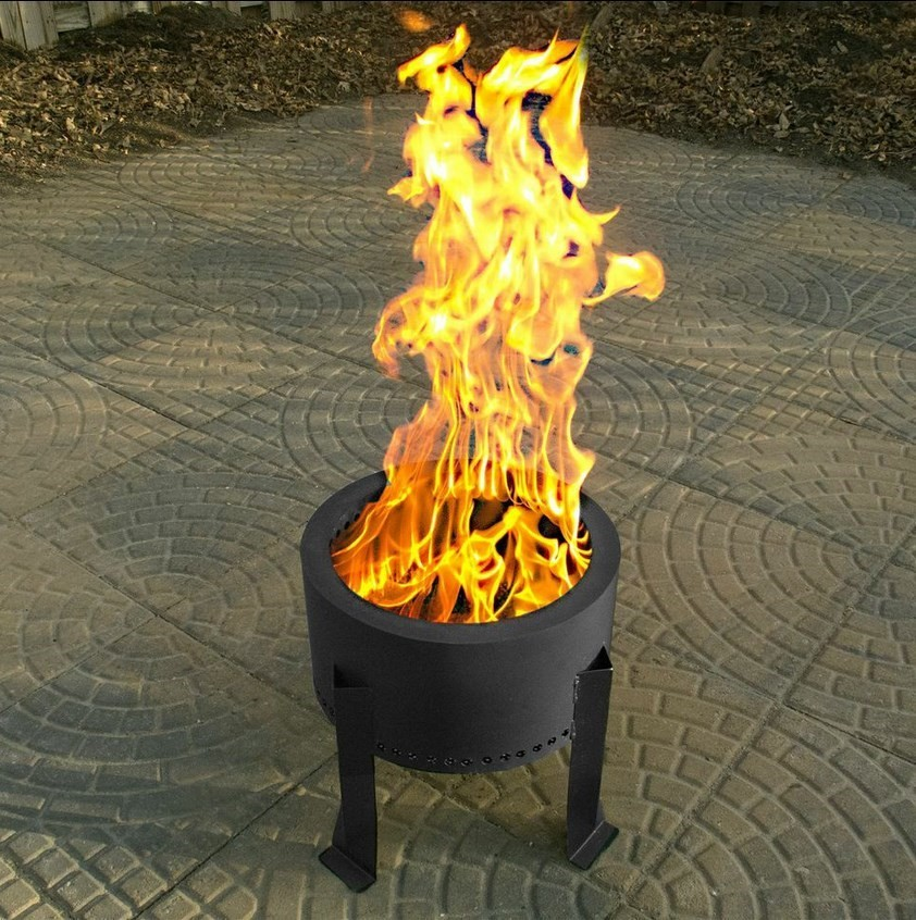 Flame Genie Wood Pellet Fire Pit Northwest Stoves