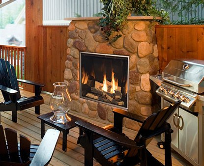 Your Outdoor Living Area Now Meets The Big, Bold Flames Of Town U0026 Country  Luxury Fireplaces.