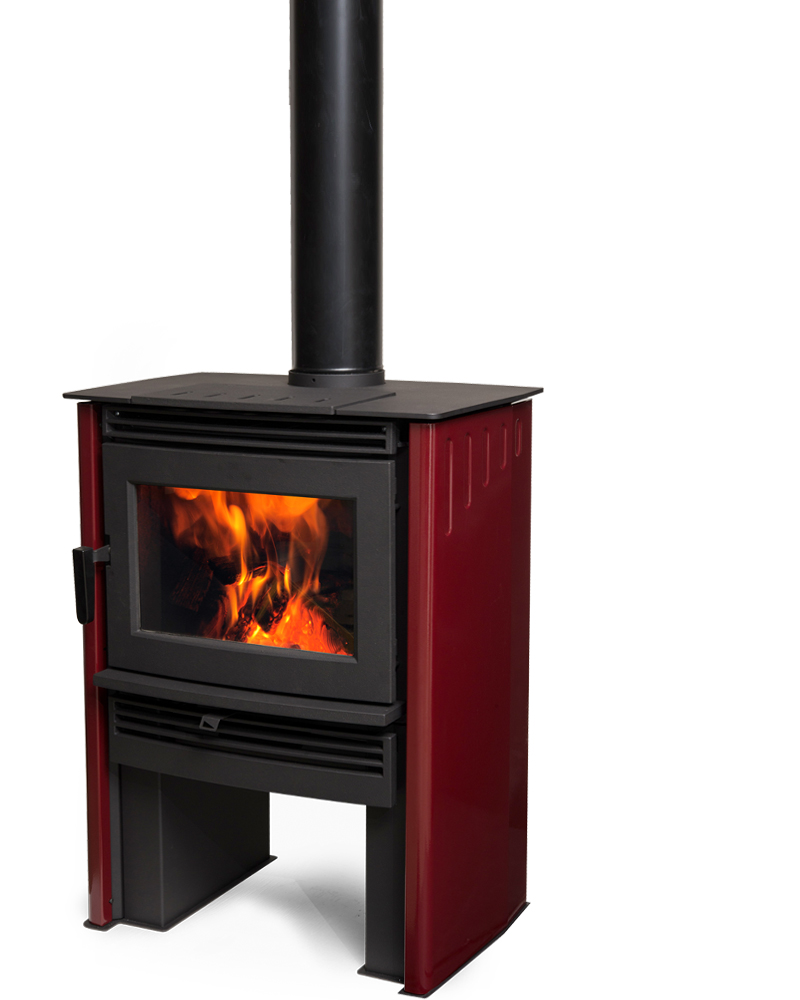 neo stove red